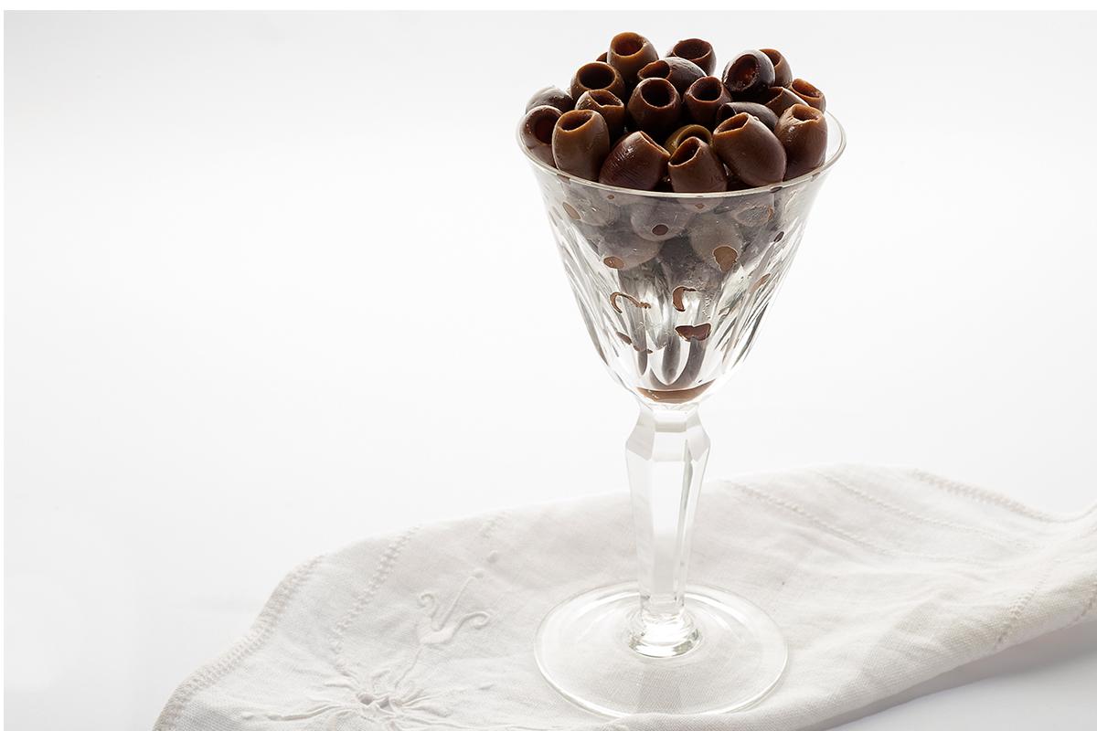 Olive nere Taggiasca denocciolate