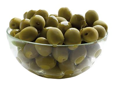 Olive verdi intere