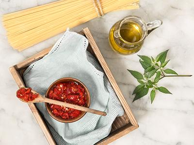 Crema di peperoncini piccanti Calabresi